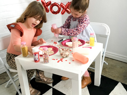 How to host a sugar cookie decorating party for kids