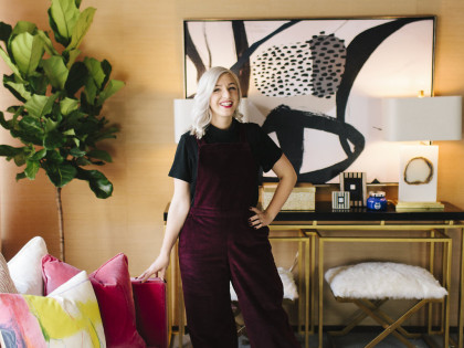 Alison's House Party No. 3: Glam Room Reveal!